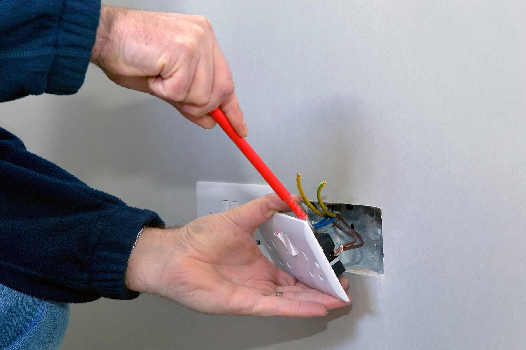 Our electricians can install plug sockets for domestic and commercial proeprties in Paddington and the local area.